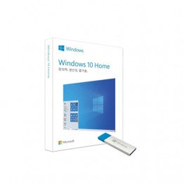 [마이크로소프트] Windows 10 Home [처음사용자용/패키지(FPP)/USB]