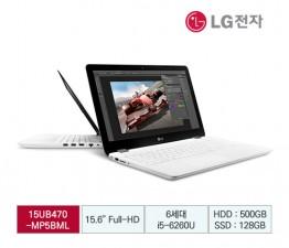 [LG전자] LG 울트라PC (Win7 호환) 15UB470-M.AP5BML [화이트]