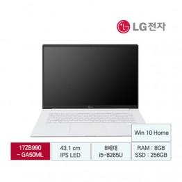 [LG전자] LG gram 17 B2B전용 17ZB990-GA50ML