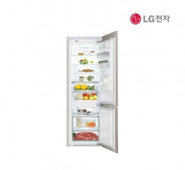 [LG전자] LG 빌트인 콤비냉장고 상냉장 하냉동 R-L281BMR [우경첩][용량:273L]