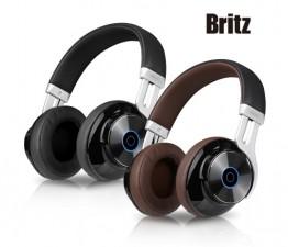 [Britz] 블루투스 헤드폰 W855BT [브라운]