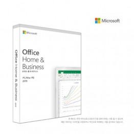 [마이크로소프트] Office 2019 Home & Business PKC [한글/기업용/패키지]