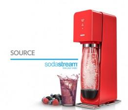 [소다스트림] 탄산수제조기 소스 Sodastream Source [레드]