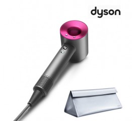 [dyson] 다이슨 슈퍼소닉 헤어드라이어(아이언핑크) + 실버 파우치(신형)