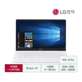 [LG전자] LG gram14 14Z995-V.AP70ML