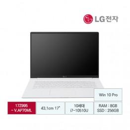 [LG전자] LG gram17 17Z995-V.AP70ML