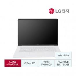 [LG전자] LG gram17 17Z995-V.AP75ML