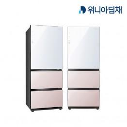 [위니아딤채] 위니아딤채 클라쎄 스탠드형 김치냉장고 GRKQ37EPWPS [용량:328L]