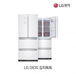 [LG전자] LG DIOS 김치톡톡 스탠드형 김치냉장고 K410W14E [용량:402L]