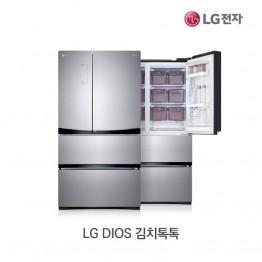[LG전자] LG DIOS 김치톡톡 스탠드형 김치냉장고 K570TS34E [용량:565L]