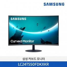 [단종예정][삼성전자] 삼성 24인치 1000R 커브드 모니터 LC24T550FDKXKR