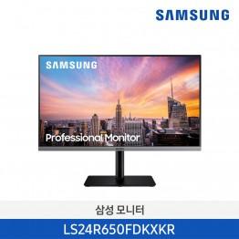 [삼성전자] 삼성 24인치 일반 모니터 LS24R650FDKXKR
