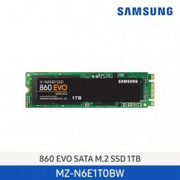 [삼성전자] SSD 860 EVO SATA M.2 1TB MZ-N6E1T0BW
