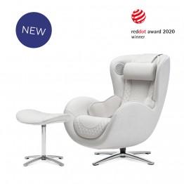 [NOUHAUS] 누하스 2021년형 뉴클래식 안마의자(엘더화이트) N-0003H-W