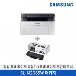 [삼성전자] 삼성 흑백 레이저복합기 + 소모품 패키지 SL-M2085W/CON