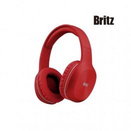 [홈캉스기획전][Britz] 블루투스 헤드폰 W800BT [레드]