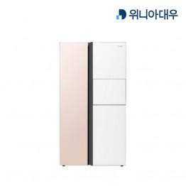 [위니아대우] Klasse 양문형 냉장고 WKR71DSJPW [용량:718L]